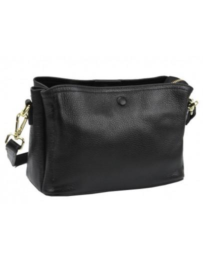 Фотография Черная женская сумка на плечо Riche F-A25F-FL-571WA
