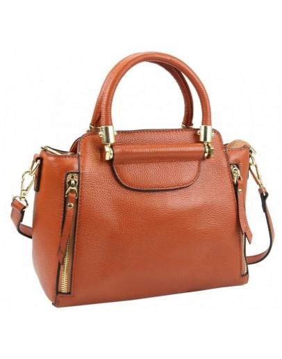 Фотография Кожаная яркая женская сумка Riche F-A25F-FL-86002WB