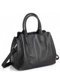 Черная женская кожаная сумка Riche F-A25F-FL-89031WA
