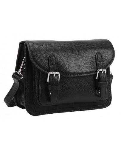 Фотография Черная женская маленькая сумочка Riche F-A25F-FL-89067WA