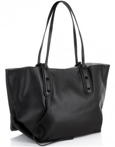 Фотография Женская кожаная сумка шоппер Riche F-A25F-FL-98085WA