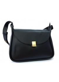 Женская черная сумка кожаная Grays F-S-GR-2722A