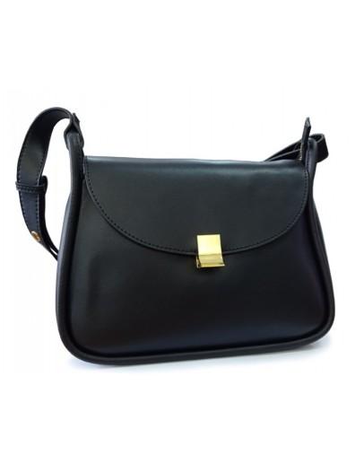 Фотография Женская черная сумка кожаная Grays F-S-GR-2722A