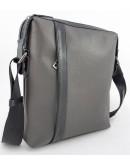 Фотография Серая мужская кожаная сумка формата А4 Vatto MK79 F13KAZ1