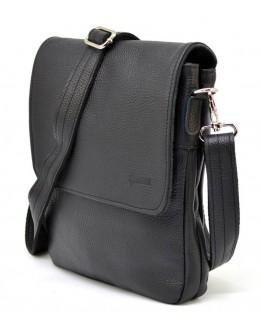 Черная мужская кожаная плечевая сумка Tarwa FA-0022-4lx