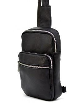 Черный мужской кожаный слинг Tarwa FA-0904-4lx