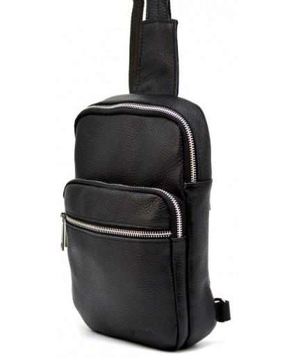 Фотография Черный мужской кожаный слинг Tarwa FA-0904-4lx