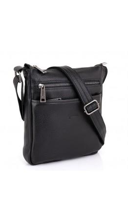 Черная сумка через плечо кожаная Tarwa FA-1300-43md