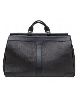 Мужской черный кожаный саквояж Tarwa FA-1402-4lx