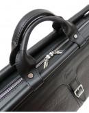 Фотография Мужской черный кожаный саквояж Tarwa FA-1402-4lx