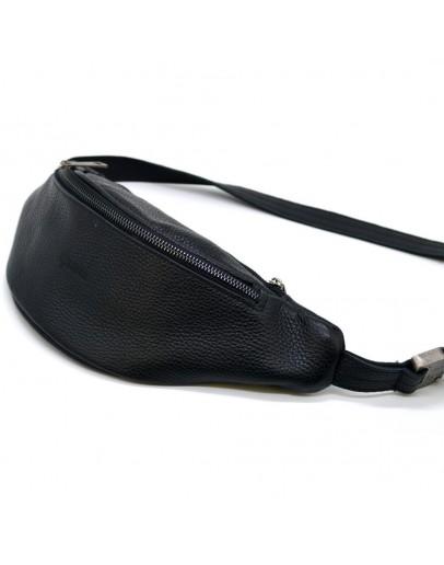 Фотография Черная сумка на пояс с темной молнией Tarwa FA-3035-3md