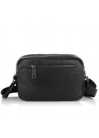 Черная кожаная сумка на плечо Tarwa FA-60125-3md