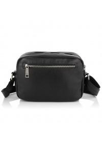 Черная мужская кожаная сумка на плечо Tarwa FA-60125-4lx