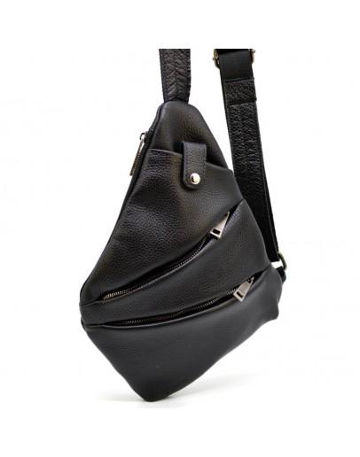 Фотография Черная мужская сумка на плечо - слинг Tarwa FA-6402-4lx