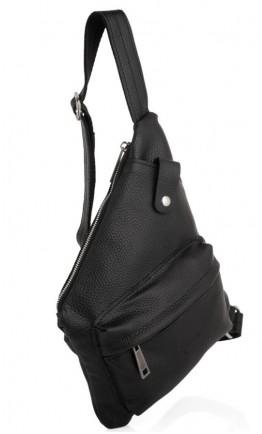 Черный кожаный удобный слинг Tarwa FA-6501-4lx
