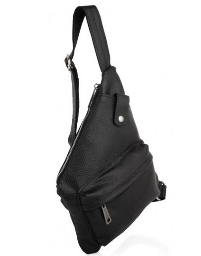 Фотография Черный кожаный удобный слинг Tarwa FA-6501-4lx