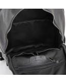 Фотография Черный рюкзак из прочной натуральной кожи Tarwa FA-7273-3md