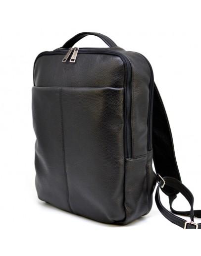 Фотография Рюкзак кожаный черного цвета Tarwa FA-7280-3md