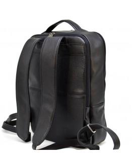 Рюкзак кожаный черного цвета Tarwa FA-7280-3md