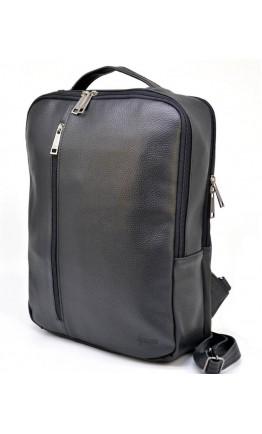 Мужской черный удобный кожаный рюкзак Tarwa FA-7287-3md