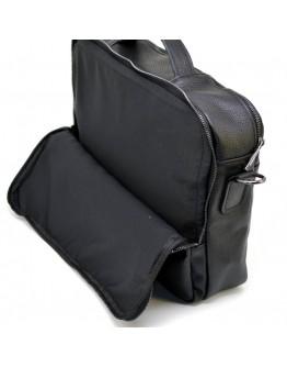 Удобная мужская кожаная сумка для ноутбука и документов Tarwa FA-7290-3md
