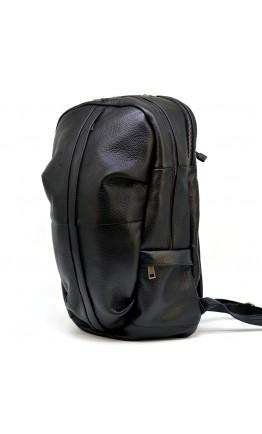 Черный мужской рюкзак из натуральной кожи Tarwa FA-7340-3md