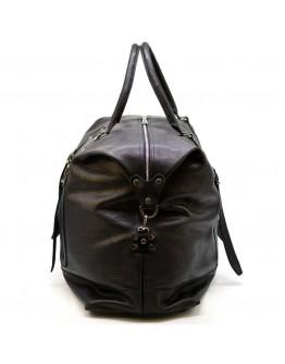 Дорожная черная сумка из натуральной кожи Tarwa FA-8310-4lx