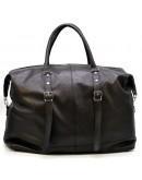 Фотография Дорожная черная сумка из натуральной кожи Tarwa FA-8310-4lx