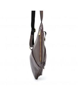 Коричневый кожаный мужской слинг Tarwa FC-6501-3md