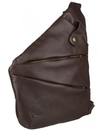 Фотография Коричневая мужская сумка на плечо - слинг Tarwa FCA-6402-4md