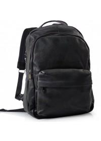 Черный кожаный рюкзак для мужчин Tiding Bag FL-TRCH-008A