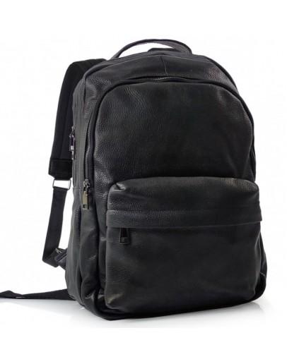 Фотография Черный кожаный рюкзак для мужчин Tiding Bag FL-TRCH-008A