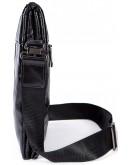 Фотография Мужская черная сумка из гладкой кожи Vintage FR0002-1