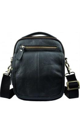 Черная мужская сумка на плечо и в руку FR00N2