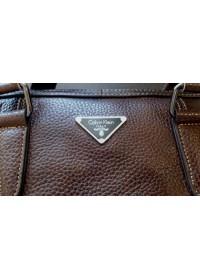 Стильный коричневый мужской портфель fr1060