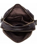 Фотография Плечевая кожаная мужская сумка с ручкой fr1100