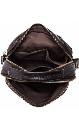 Плечевая кожаная мужская сумка с ручкой fr1100