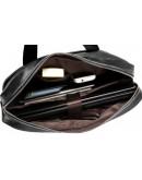 Фотография Чёрный мужской портфель - сумка для ноутбука fr1601