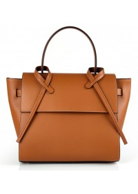 Женская коричневая кожаная сумка Grays FS-BB-3401C