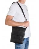 Фотография Кожаная мужская вместительная сумка на плечо Zagora FZ-037-3