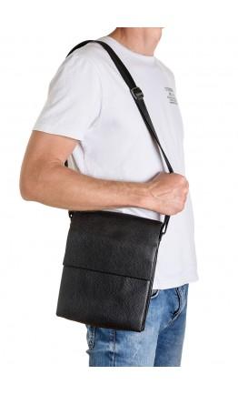 Кожаная мужская вместительная сумка на плечо Zagora FZ-037-3