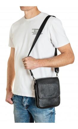 Кожаная небольшая мужская сумка на плечо FZ-013-2