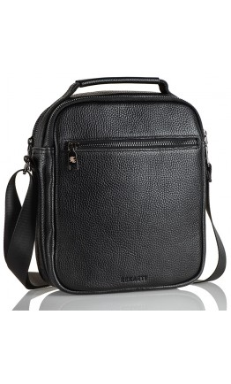 Мужская кожаная сумка на плечо - вместительная барсетка FZ-022