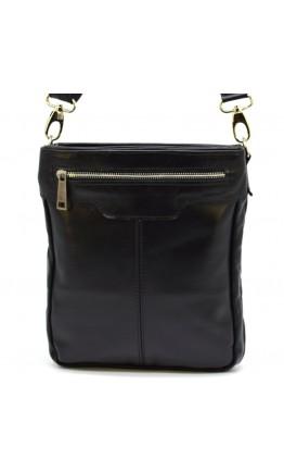 Кожаная мужская сумка на плечо с плетением Tarwa GA-0021-3md