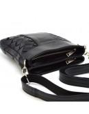 Фотография Кожаная мужская сумка на плечо с плетением Tarwa GA-0021-3md