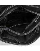 Фотография Мужская черная кожаная сумка на 2 отделения Tarwa GA-0022-4lx