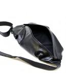 Фотография Мужской кожаный черный слинг Tarwa GA-0705-3md