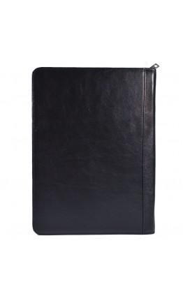Черная кожаная мужская папка для документов Visconti 18238 Bond (Black)