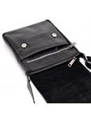 Фотография Черная кожаная мужская сумка на плечо Tarwa GA-1301-4lx
