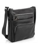 Фотография Мужская черная кожаная сумка на плечо Tarwa GA-1303-4lx